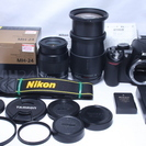 極少ショット648回★新品級 Nikon ニコン D3100 Wレ...
