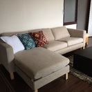 IKEA 3人掛け ゆったりソファ