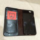 栃木レザー  iPhone6用  ブラック