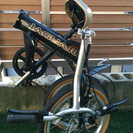 ジャガーの折りたたみ自転車