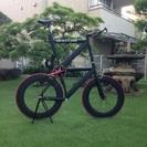 リーダータイプアルミフレーム トールバイク