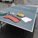 【卓球台セット】小物付き◆国際規格◆セパレート◆折りたたみ