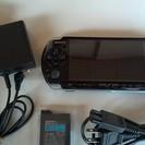 只今交渉中!!PSP3000 ブラック バッテリー2個付き
