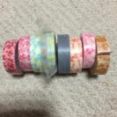 マスキングテープ 絵柄5種類8本セット 美品