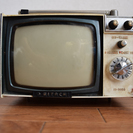 [値下げ]アンティーク マイクロテレビ FI-5000箱付
