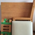 ダイニングテーブル 正方形 椅子2セット 差し上げます