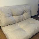 【交渉中】ソファーベッド、ミニ枕付き