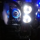 自作PC ジャンク (ケース、電源、簡易水冷、メモリ、メモリクーラ...