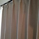 遮光1級カーテン2枚・カーテンレール