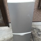 ナショナル2ドア冷蔵冷凍庫
