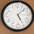 反転 壁掛け時計