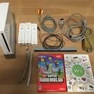 Wii本体 リモコン3本 ソフトなど