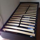 スノコ式シングルベッド(収納可能)