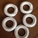 新品 陶器の箸置き5個