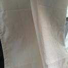 ニトリ カーテン2枚1組 100×175cmオフオワイト