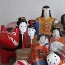 譲り先が決まりましたので,終了させていただきます.郷土玩具の土人形...