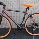 クロスバイク FUJI Palette 2013 ガンメタ×オレンジ