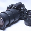 極少2857回★新品級 Nikon ニコン D3100 W望遠レン...