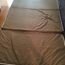 [取りに来れる方限定!]ニトリ 折り畳みマットレス 厚さ14センチ