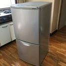冷蔵庫 ナショナル グレー 灰色 NR-B123J