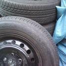 195/65/15ヨコハマ製タイヤ+鉄ホイールセットを譲ります