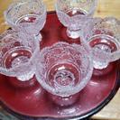 おしゃれなsasaki crystalの高台小鉢