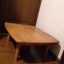 【無料】木のローテーブル