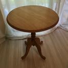 丸テーブル 木製