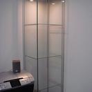 IKEA ガラス製棚 美品 フィギュア棚やコレクションに……☆
