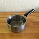 [6月渡し] 無印良品 片手鍋 14cm ステンレス3重構造 0.8L