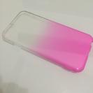 ケース カバー iPhone6 ピンク ラメ