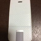 スマホケース(iPhone5s/5用)白