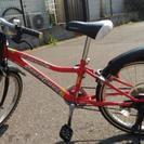 子供用自転車20インチ 室内保管