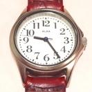 アルバです。クラシックタイプのレディース腕時計です。電池交換済み