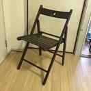 [6月渡し] IKEA(イケア) TERJE 折りたたみ椅子 木製