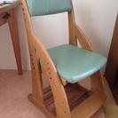 ランドセル収納付き勉強用椅子