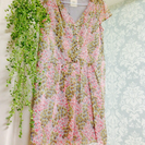 ワンピース 花柄 ルラシェ 美品