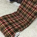 ニトリ座椅子カバー付き