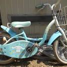 幼児用自転車補助輪付き 16インチ シナモンロール 中古