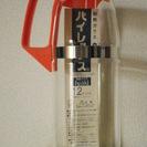 未使用 パイレックス 1.2リットル 耐熱ガラス 熱湯用 iwak...