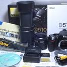本格入門セット♪極上品 Nikon ニコン D5100 Wレンズ ...