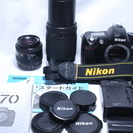 極少ショット2460回★ 極上美品 Nikon ニコン D70 W...