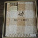 未使用 箱付 天然有色綿タオル バスタオル 1枚