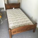 ニトリ シングルベッド 木製ベッド