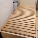 ベッド枠(分解可能)、ベッドマットレス