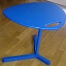 ※交渉中 【IKEA】おしゃれなサイドテーブル☆青【無料】