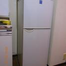 2ドア冷蔵庫 シャープ SJー14FT 140L 2003年
