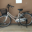 新品同様の自転車