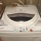 美品 TOSHIBA製 洗濯機 5kg