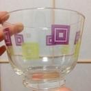 ガラス茶碗